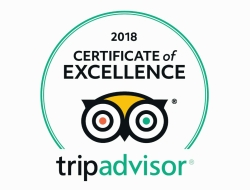 Certificate of Excellence HAWTHORNS B&B