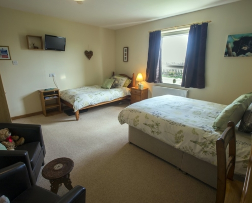Holly Bedroom for NC500 Travellers