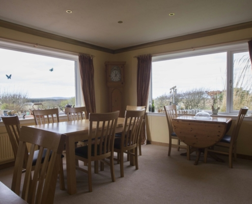 Hawthorns Mey Breakfast Room